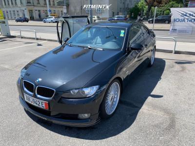2009 BMW 3 Series - 19x8 30mm - Alpina Classic - Lowering Springs - 245/35R19