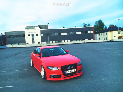 2009 Audi A4 - 19x9.5 22mm - ESR Sr06 - Coilovers - 225/35R19
