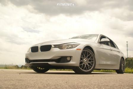2013 BMW 328i xDrive - 18x8.5 35mm - Rotiform Rse - Lowering Springs - 215/45R18