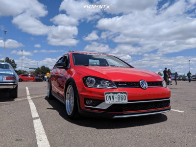 2017 Volkswagen Golf Alltrack - 18x9 35mm - Avant Garde M220 - Coilovers - 245/40R18