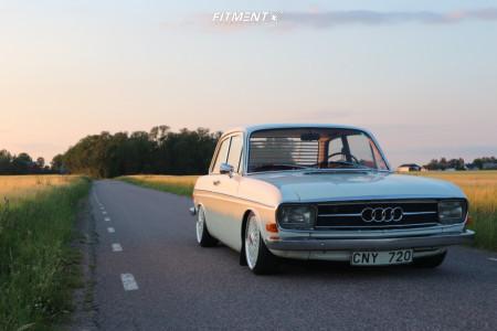 1971 Audi 100 Series - 17x7 43mm - BBS Rs - Air Suspension - 185/35R17