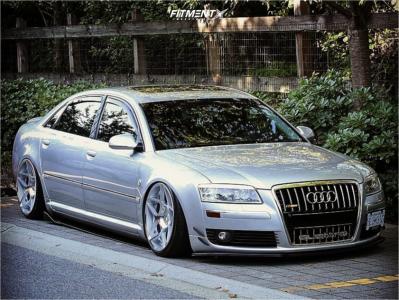 2006 Audi A8 Quattro - 20x10.5 35mm - 3SDM 0.08 - Air Suspension - 275/30R20