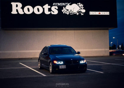 2007 BMW 335xi - 18x8 34mm - BMW Style 162 - Coilovers - 225/45R18