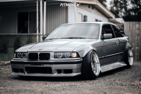 1999 BMW 328is - 18x10.5 22mm - Circuit Performance Cp25 - Coilovers - 225/40R18