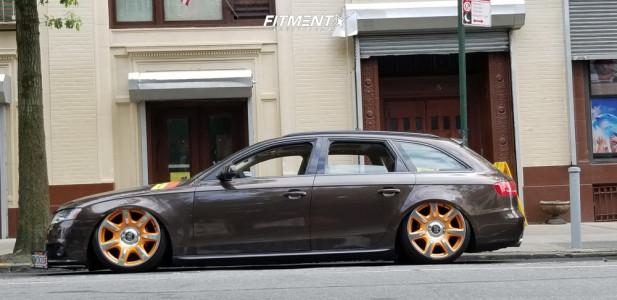2011 Audi A4 Quattro - 20x9.5 33mm - Rolls Royce Ghost Wheels  - Air Suspension - 235/35R20