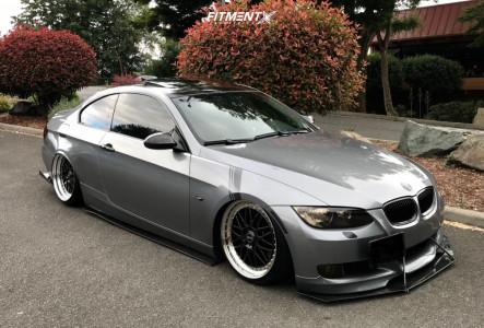 2007 BMW 335i - 19x8.5 30mm - Rial Daytona - Air Suspension - 215/35R19
