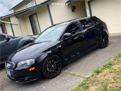 2007 Audi A3 - 18x8 35mm - Konig Oversteer - Coilovers - 225/40R18