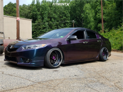 2012 Acura TSX - 18x9.5 6mm - GMR GS-107 - Coilovers - 215/40R18