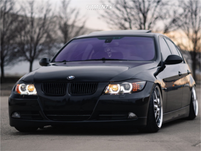 2007 BMW 328xi - 18x9 31mm - Amistad Charme - Coilovers - 215/35R18