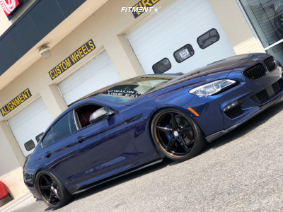 2016 BMW 650i xDrive Gran Coupe - 21x9 30mm - Vossen Vws3 - Coilovers - 275/30R21