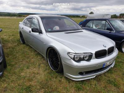 2001 BMW 745i - 22x10 35mm - ProSport Nero - Air Suspension - 265/30R22