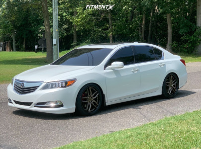 2015 Acura RLX - 20x9 35mm - Niche Methos - Coilovers - 245/35R20