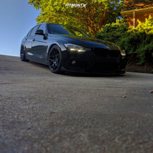 2017 BMW 320i - 19x8.5 35mm - Aodhan Ls002 - Coilovers - 245/35R19