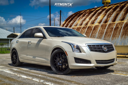 2017 Cadillac ATS - 20x8 35mm - HD Msr - Stock Suspension - 245/30R20