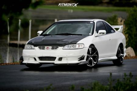 2002 Honda Accord - 19x7.5 42mm - HD Spinout - Lowering Springs - 225/35R19
