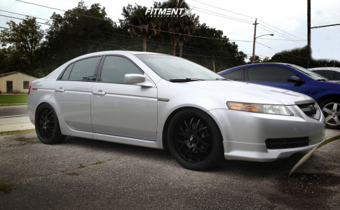 2005 Acura TL - 20x8 35mm - HD Msr - Coilovers - 245/35R20