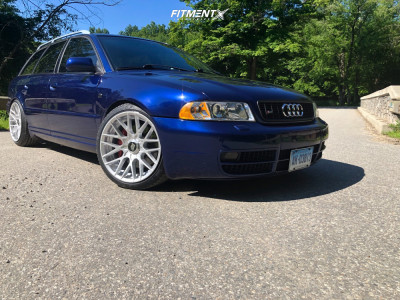 2002 Audi S4 - 18x9.5 35mm - Rotiform Rse - Coilovers - 225/40R18