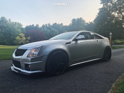 2011 Cadillac CTS - 20x9 35mm - Niche Misano - Coilovers - 275/35R20