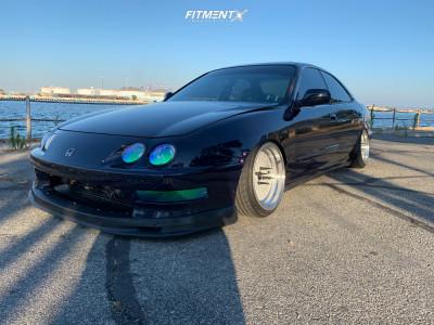 1999 Acura Integra - 16x8.5 0mm - NSR Drift-mdv2 - Stock Suspension - 195/40R16