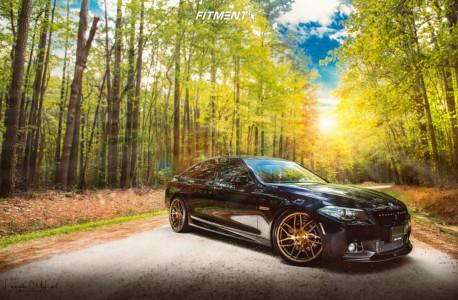 2015 BMW 528i - 21x9 20mm - Rohana Rfx7 - Coilovers - 245/35R21