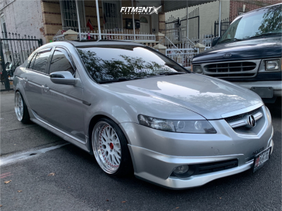 2008 Acura TL - 18x9.5 35mm - GMR Gs-105 - Coilovers - 225/35R18