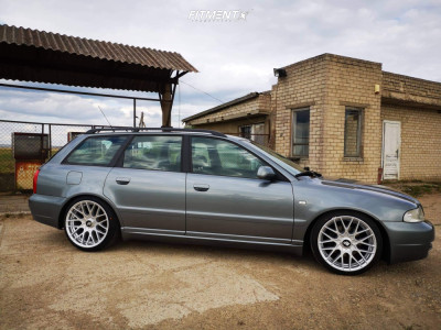 2001 Audi A4 - 18x8.5 35mm - Rotiform Rse - Coilovers - 205/40R18