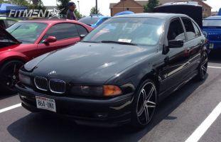 2000 BMW 540i - 20x8.5 20mm - TIS 536MB - Stock Suspension - 245/30R20