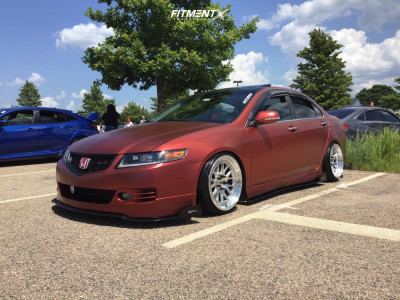 2006 Acura TSX - 18x9.5 22mm - Aodhan DS06 - Coilovers - 215/35R18