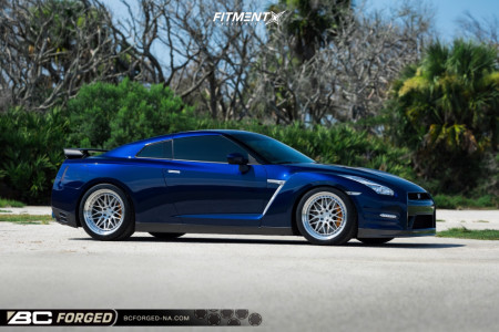 2016 Nissan GT-R - 20x10 28mm - Bc Forged Mle81 - Lowering Springs - 285/35R20