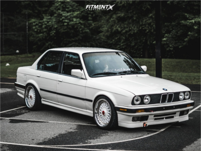 1991 BMW 318i - 17x8 0mm - BBS Rc090 - Coilovers - 205/40R17