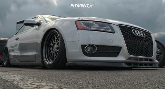 2011 Audi A5 Quattro - 18x8 35mm - JNC JNC005 - Air Suspension - 235/40R18