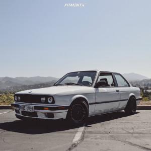 1987 BMW 325e - 16x8 20mm - XXR 536 - Coilovers - 205/40R16
