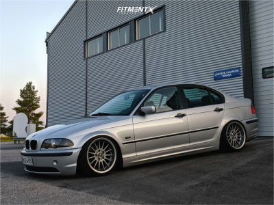 2000 BMW 3 Series - 17x8 20mm - BMW Style 32 - Coilovers - 195/40R17