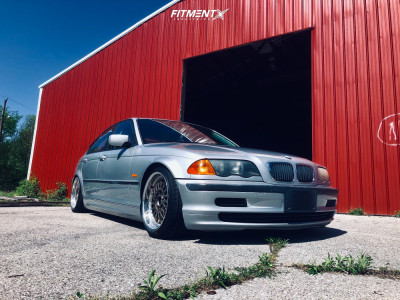 2000 BMW 323i - 17x8 40mm - BMW Style 5 - Coilovers - 205/40R17