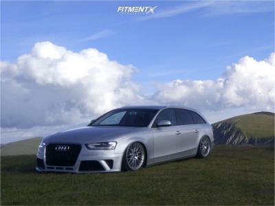 2010 Audi A4 Quattro - 19x8.5 30mm - BBS Speedline - Air Suspension - 245/30R19