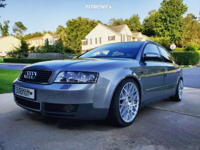 2003 Audi A4 Quattro - 18x8.5 38mm - Rotiform Blq - Coilovers - 235/35R18