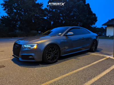 2014 Audi S5 - 19x9 32mm - 305 Forged FT107 - Lowering Springs - 255/35R19