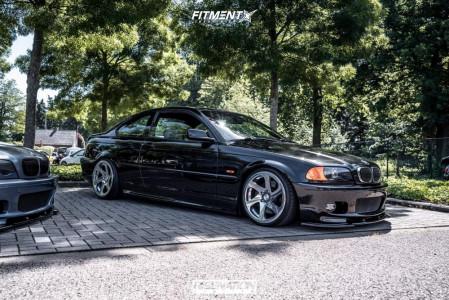 2001 BMW 330Ci - 18x8.5 35mm - 3SDM 0.06 - Coilovers - 205/35R18
