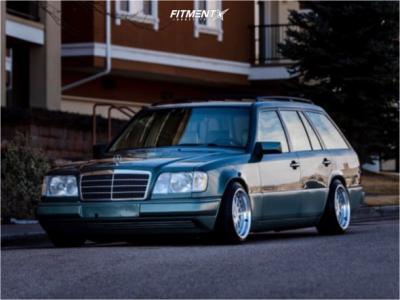 1994 Mercedes-Benz E320 - 16x9 15mm - ESM Esm-003r - Lowering Springs - 195/45R16