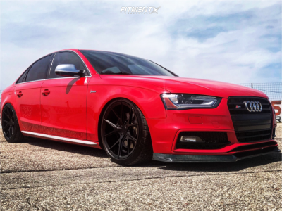 2013 Audi S4 - 19x9.5 36mm - Verde Axis - Coilovers - 255/35R19