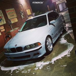 2000 BMW M5 - 18x9 30mm - Borbet BS - Coilovers - 245/40R18