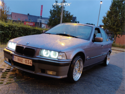 1997 BMW 318i - 17x8.5 0mm - BBS Rs - Stock Suspension - 195/40R17