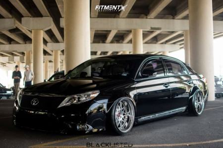 2009 toyota avalon fitment gallery fitment industries 2009 toyota avalon fitment gallery
