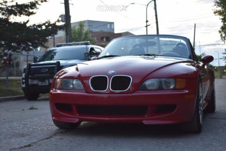 1998 BMW Z3 - 17x8 15mm - Beyern Antler - Coilovers - 245/45R17