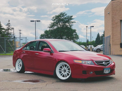 2006 Acura TSX - 18x9.5 10mm - Cosmis Racing XT-206R - Coilovers - 225/35R18