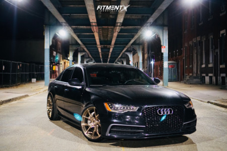 2014 Audi A6 Quattro - 20x10 40mm - VS Forged VS08 - Lowering Springs - 255/35R20