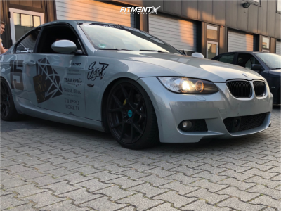 2007 BMW 3 Series - 19x8.5 35mm - Rotiform Kps - Coilovers - 225/35R19