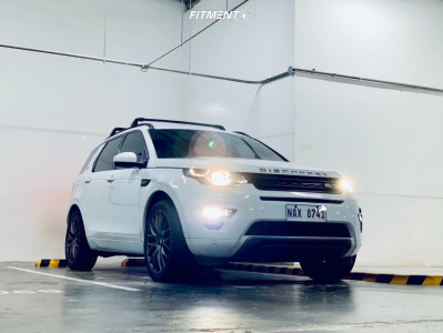 2016 Land Rover Discovery Sport - 20x8.5 38mm - Verde Saga - Lowering Springs - 255/45R20