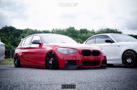 2012 BMW 116D - 18x8.5 45mm - Rotiform Six - Air Suspension - 205/35R18