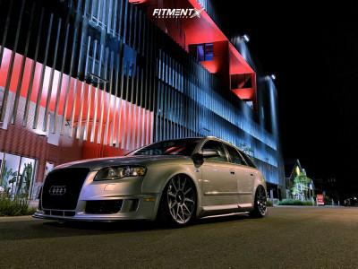 2006 Audi A4 Quattro - 19x8.5 45mm - Rotiform Cvt - Air Suspension - 225/35R19